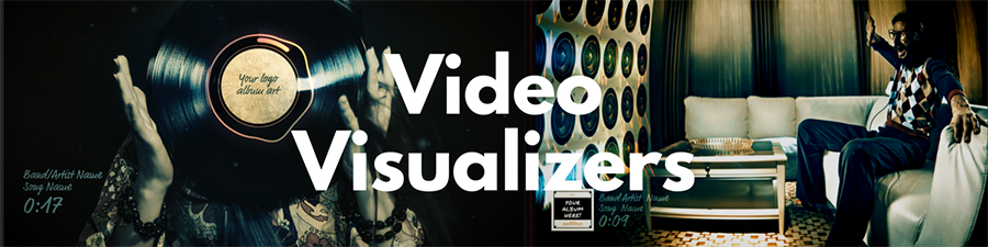 Visualizer Videos for your songs