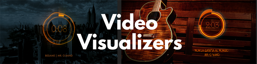 Visualizer Video for your songs
