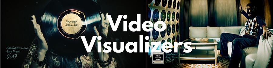 Visualizer Videos for your album