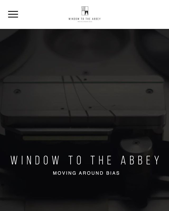 Now live- windowtotheabbey.com!