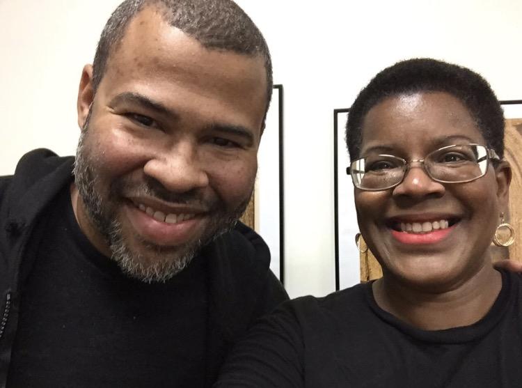 Jordan Peele and Professor Tananarive Due
