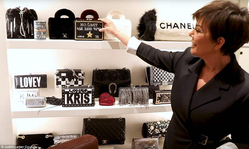 2cd1c0d1559d47 A LOOK INSIDE KRIS JENNER'S CLOSET — The Blogssip | Celebrity Gossip & News
