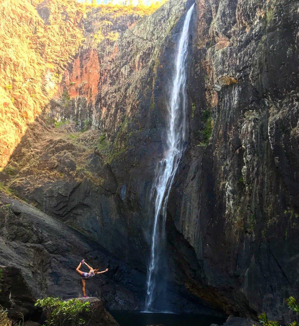 Wallaman Falls.