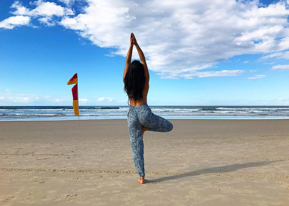 Yoga has taken me on a journey of self-healing and learning to love every aspect of my being.