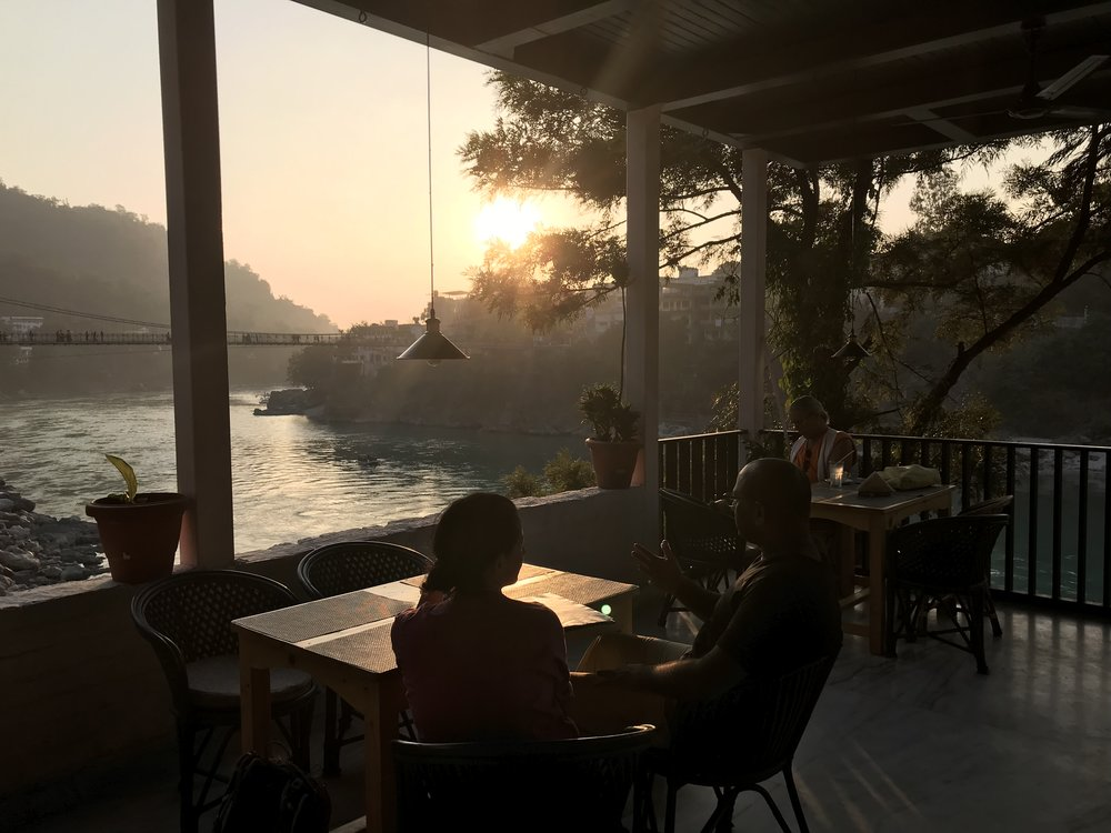 Rishikesh is filled to the brim with beautiful cafes.