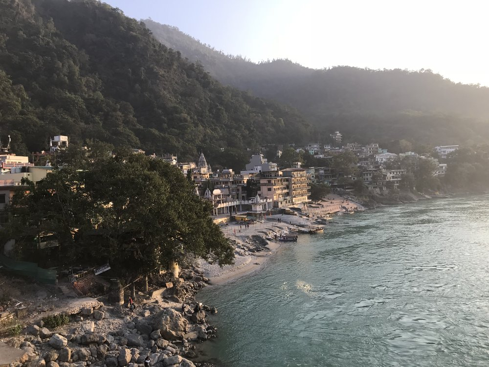 Rishikesh in all its beauty.