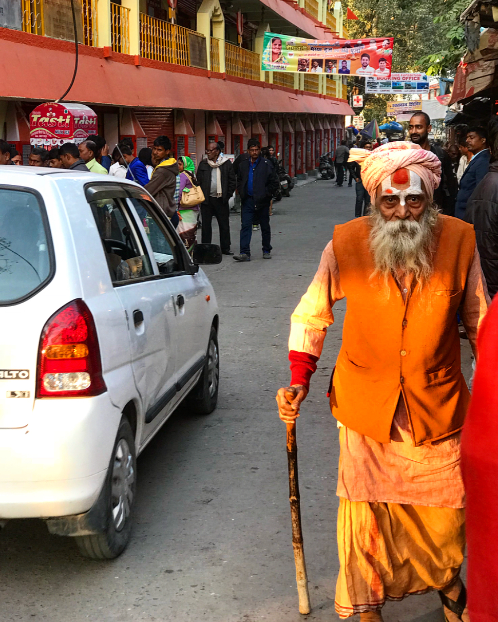 Locals of Rishikesh.