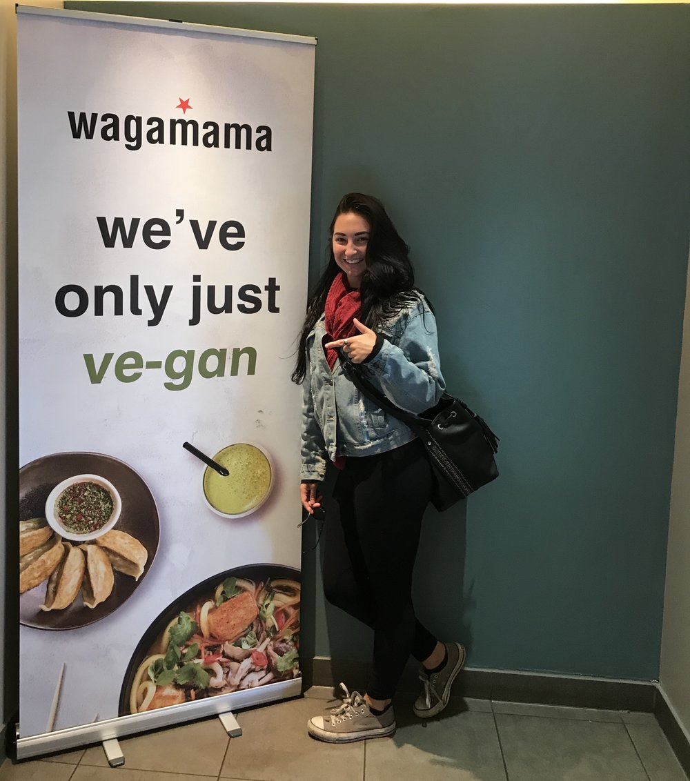 When you return home after 2 years away, to find one of your old favourite restaurants is becoming more vegan friendly.