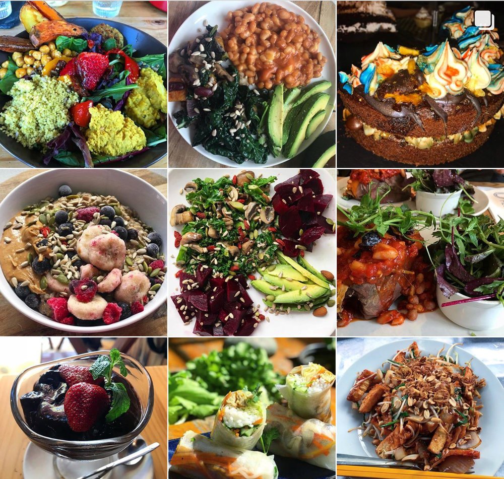Check out my vegan food Insta page @VeganForVitality for regular yummy vegan food posts and inspiration.