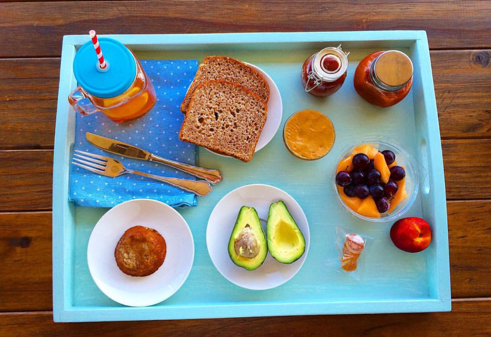 A vegan breaky from South Africa.