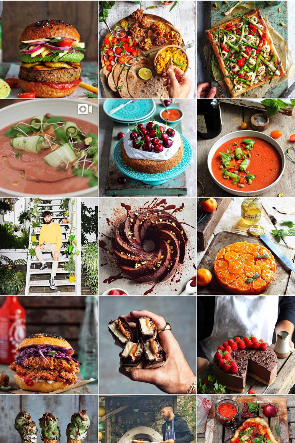 Some of the mouth watering meals @AvantGardeVegan has created.