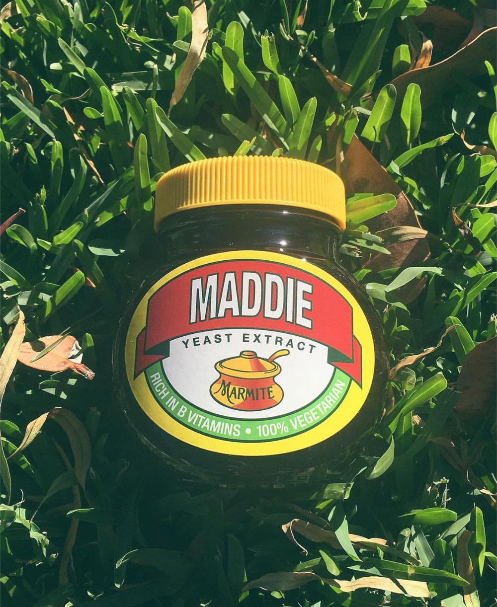 When your bestfriend sends you Marmite to Australia cause Veggie Mite tastes like shit haha.