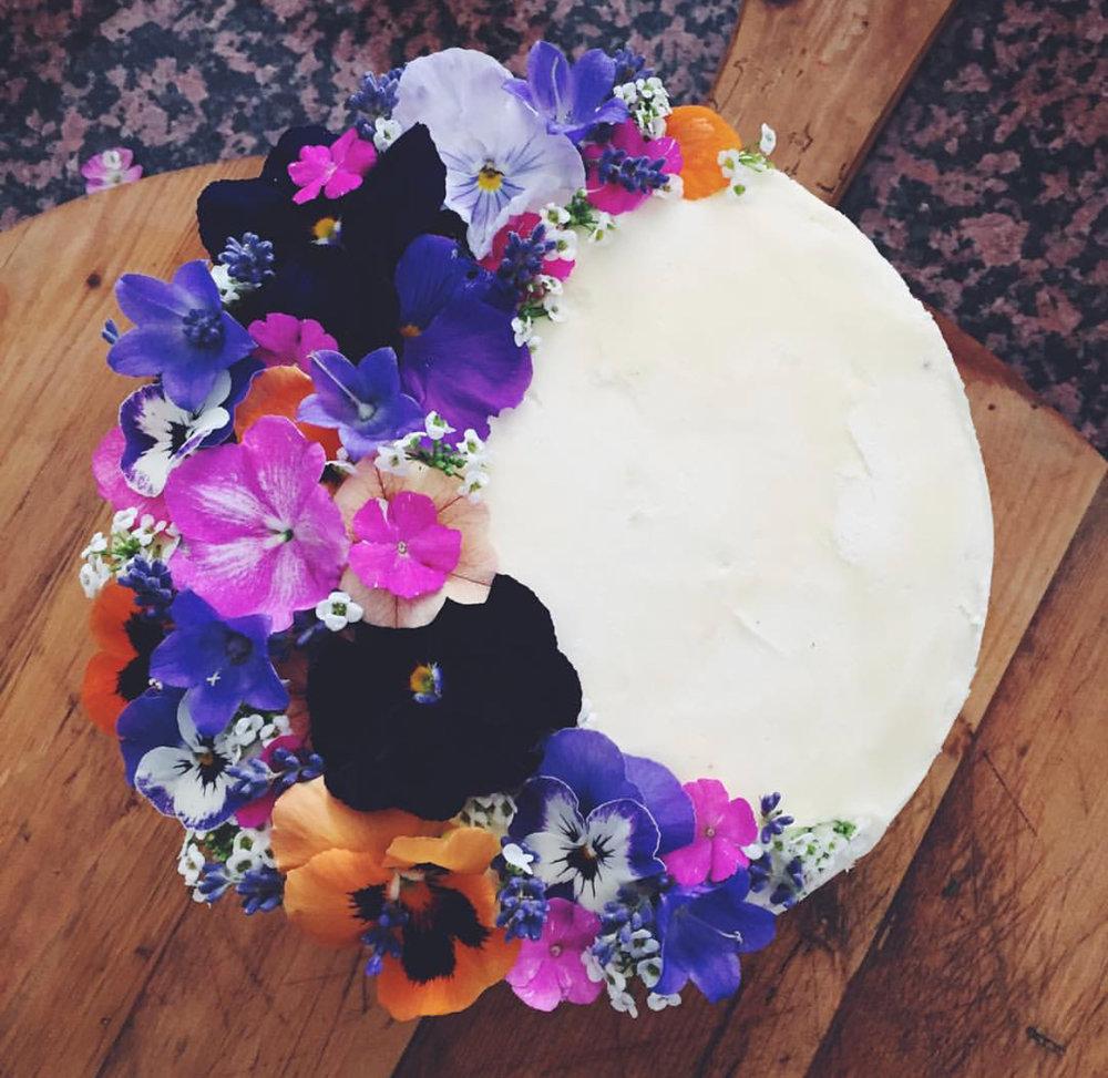 Another one of Sarah's magical vegan creations.
