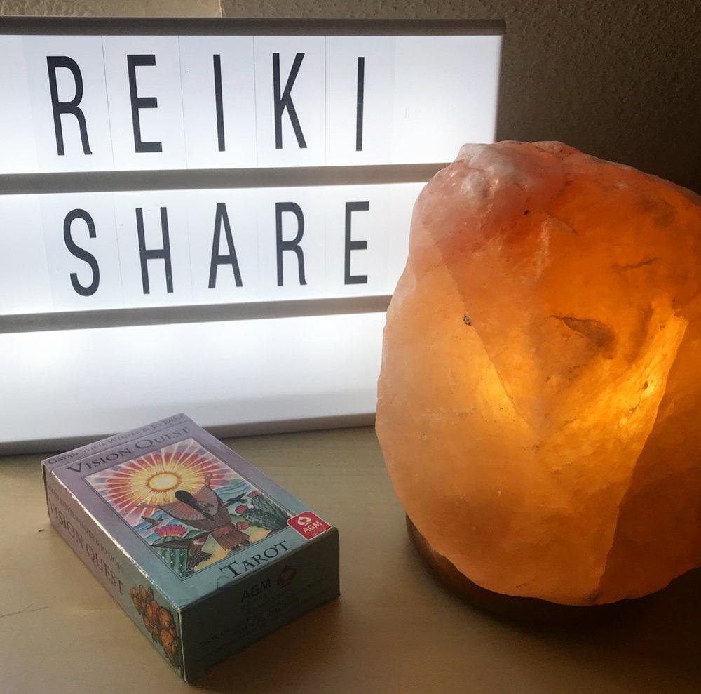 Reiki share vibes.