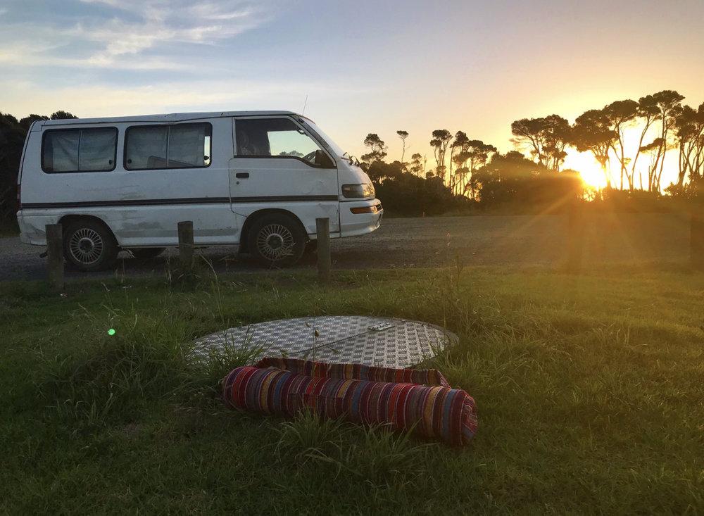 Our Van Mushi.