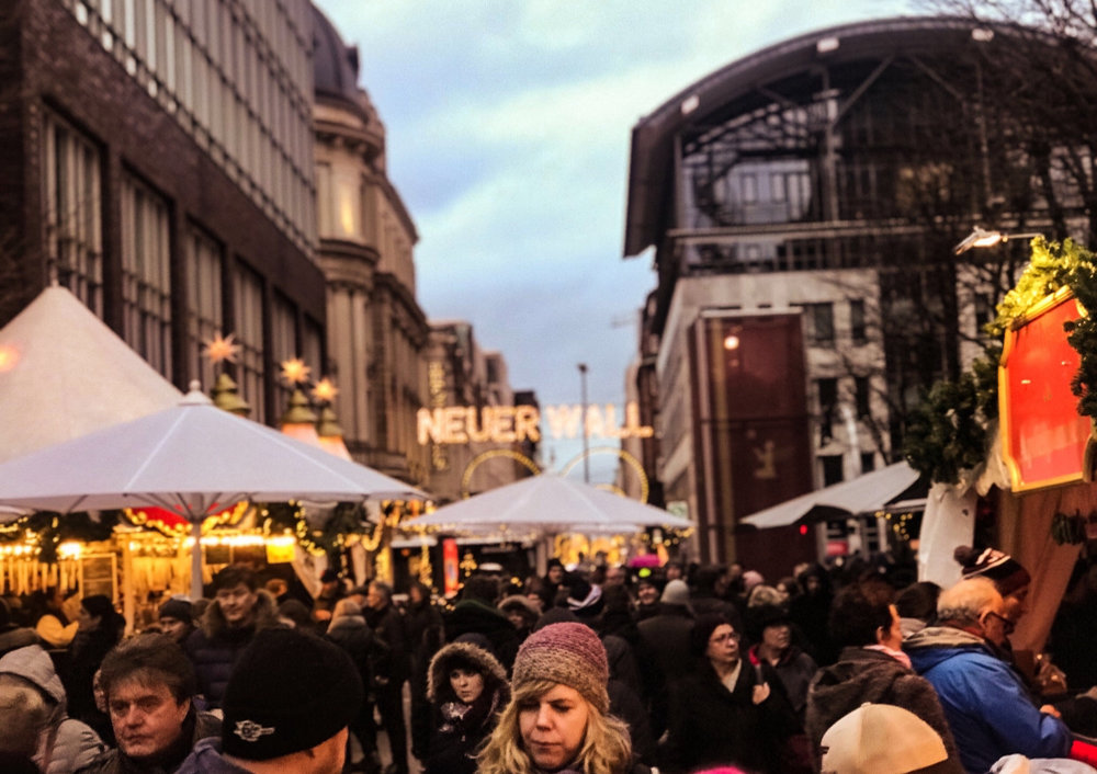 Christmas market, Hamburg.