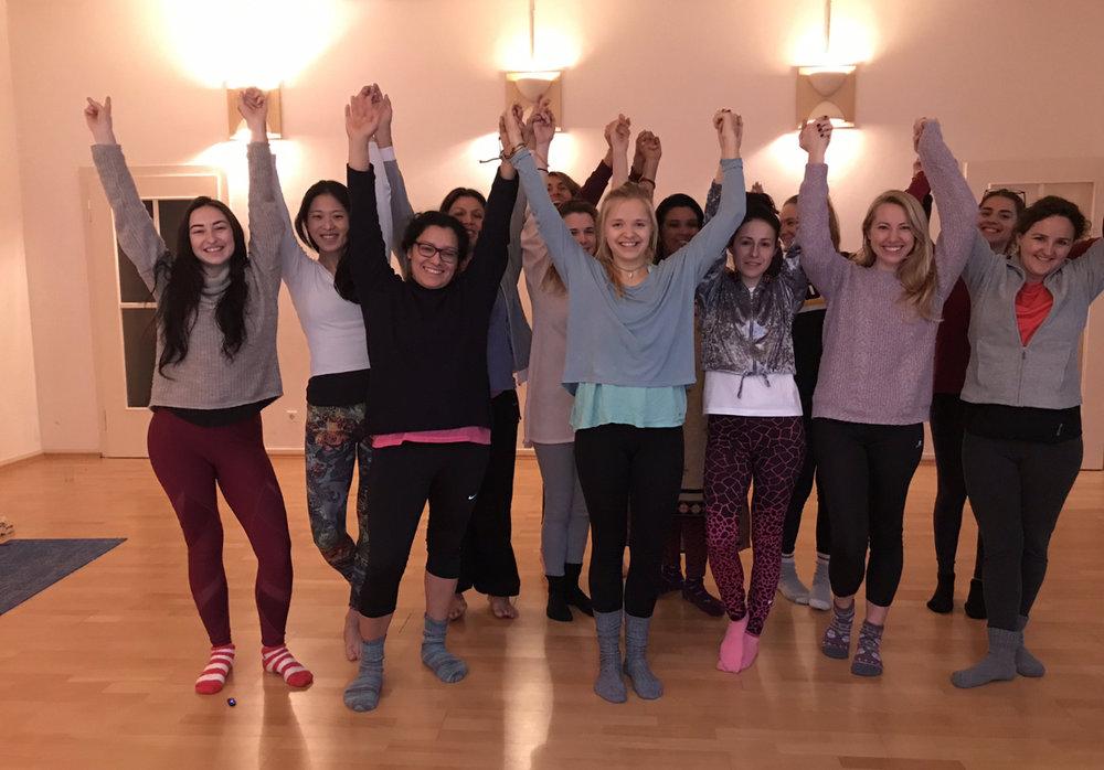 Women's Wellness Workshop ladies!