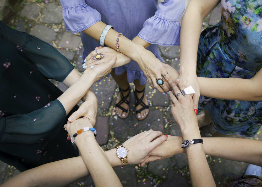 Female empowerment (photo taken from Heather's intutive art website).