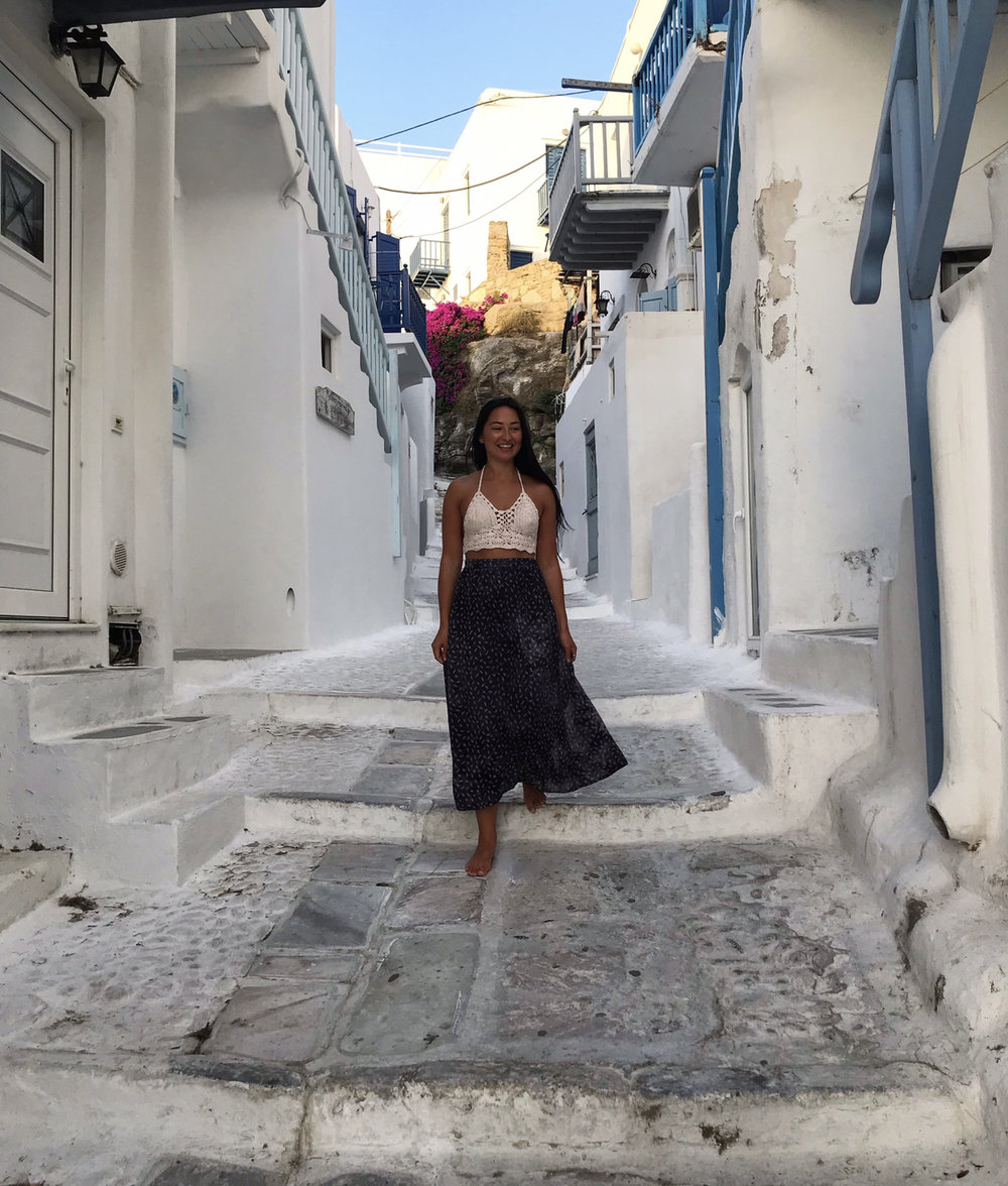 Explore the beautiful streets of Mykonos Old Town