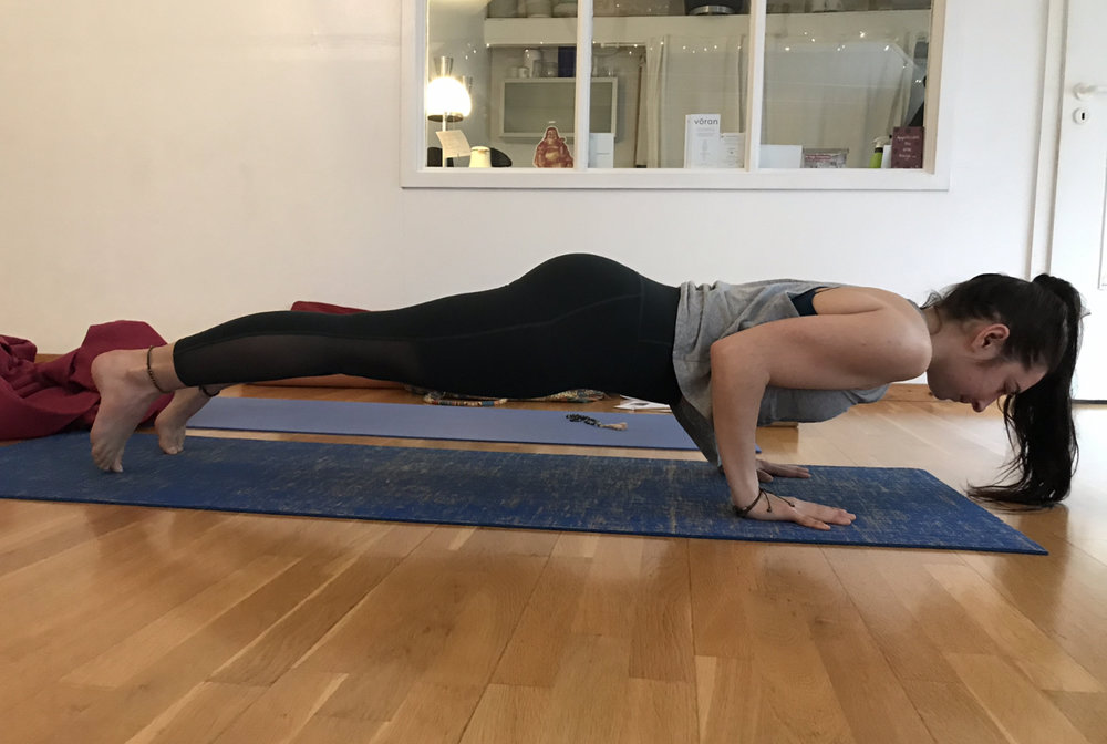 The first weekend of my 100 hour yoga immersion raining (the Mazé Method).