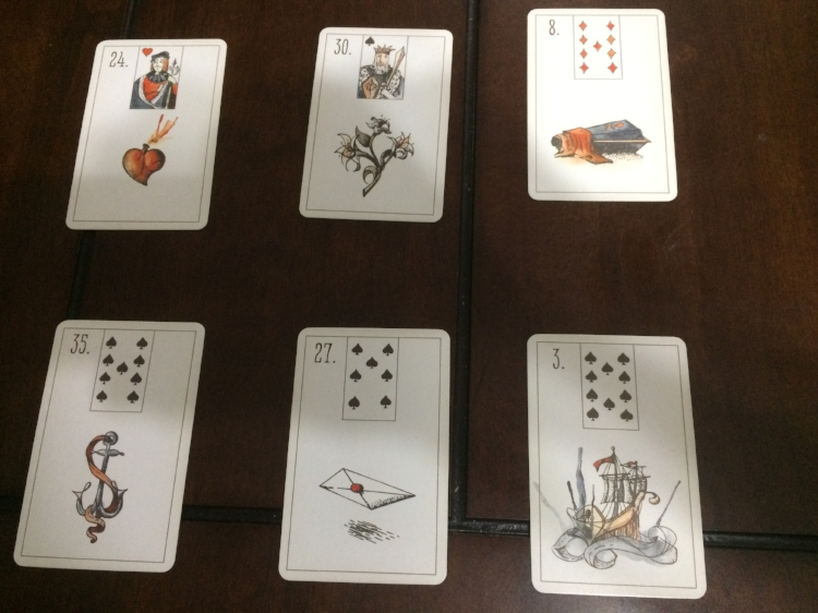 Deck: The Maybe Lenormand by Ryan Edward (Inset Cards and Curiosities)