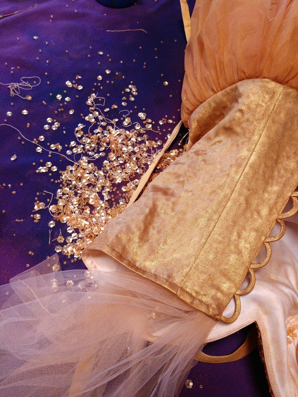 debeaded-handpainted-gold-dress