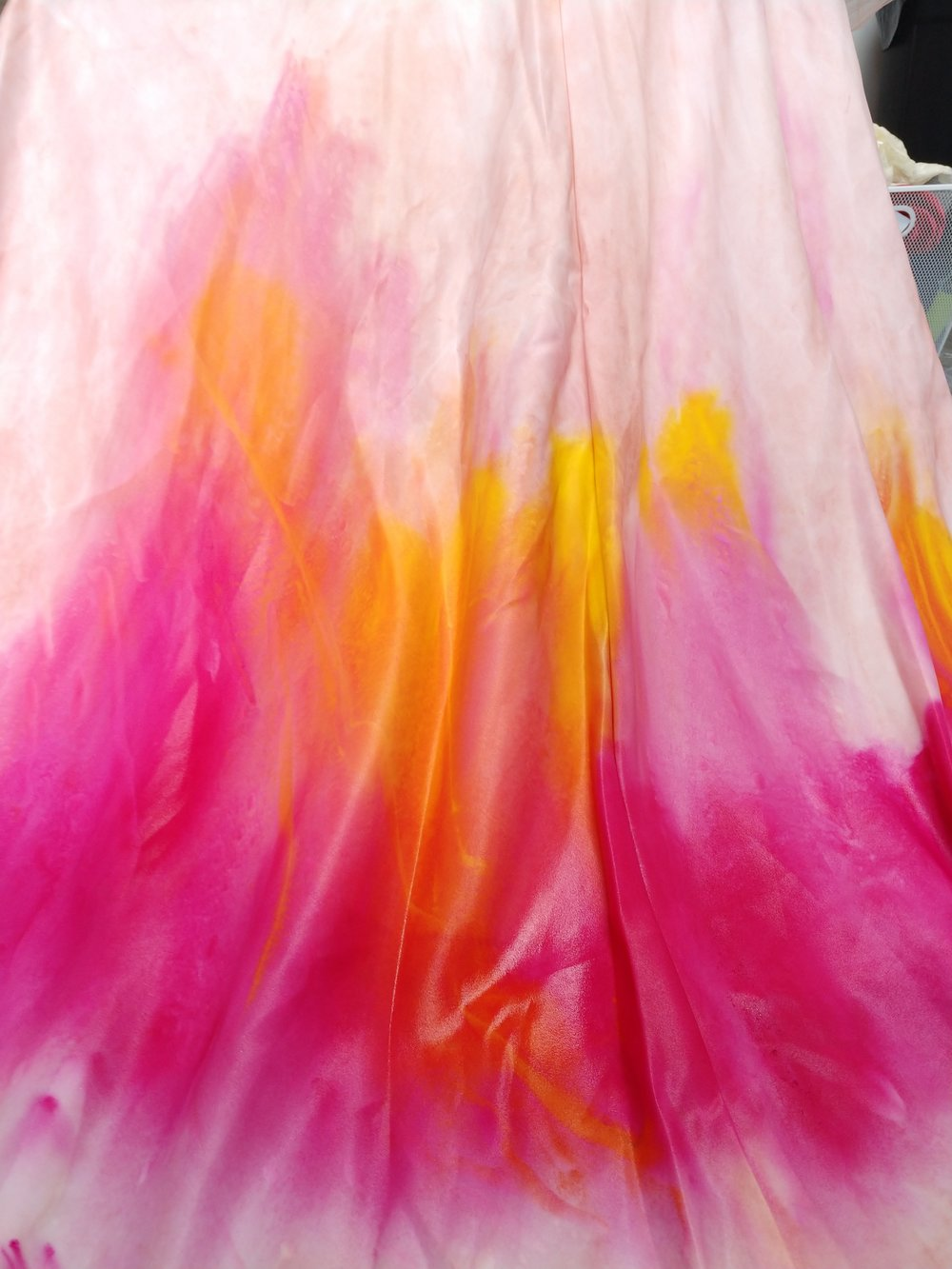 gold-pink-handpainted-process