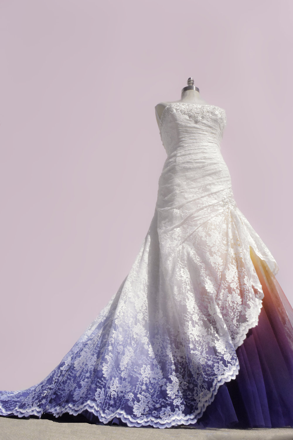 Custom Coloring - Your Dress, Your Colors.