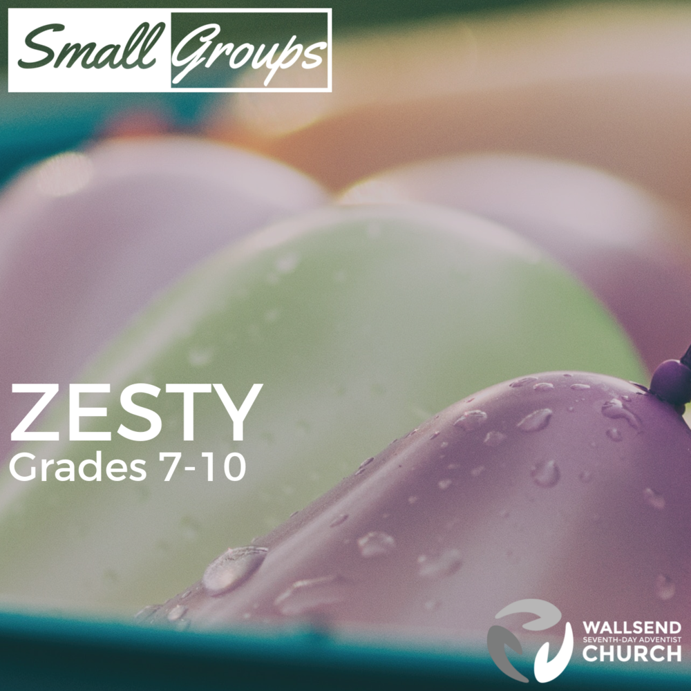 Grades 7-10 Wednesdays 7:00-8:15pm Wallsend SDA Church