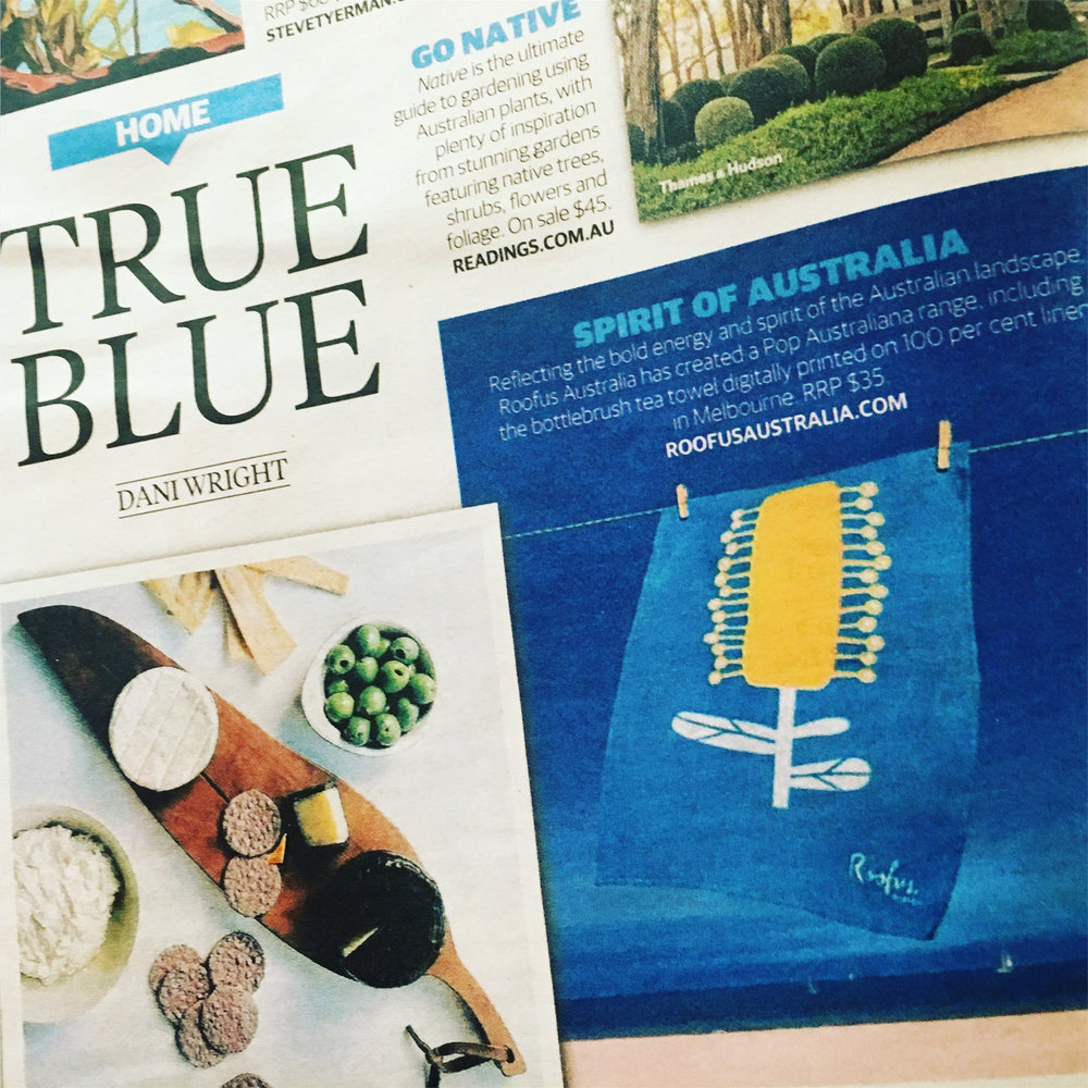 Feature in the Herald Sun Home Section January 18