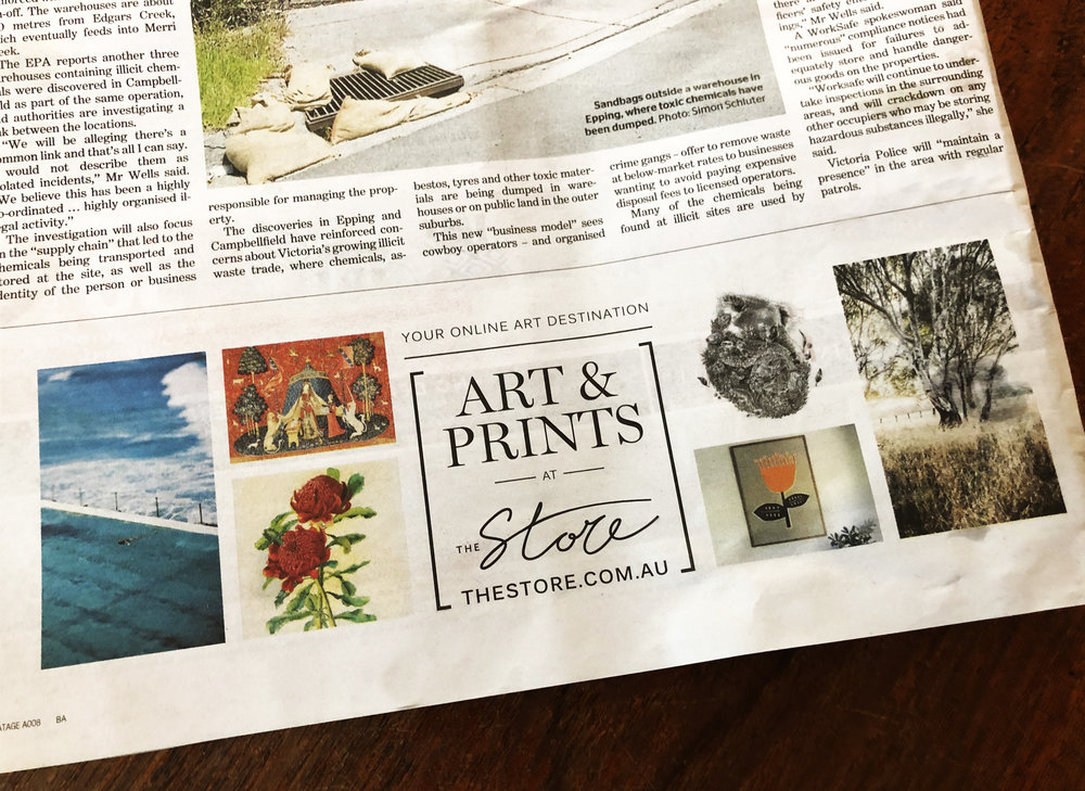 We were featured in a Fairfax the Store Ad December 18.