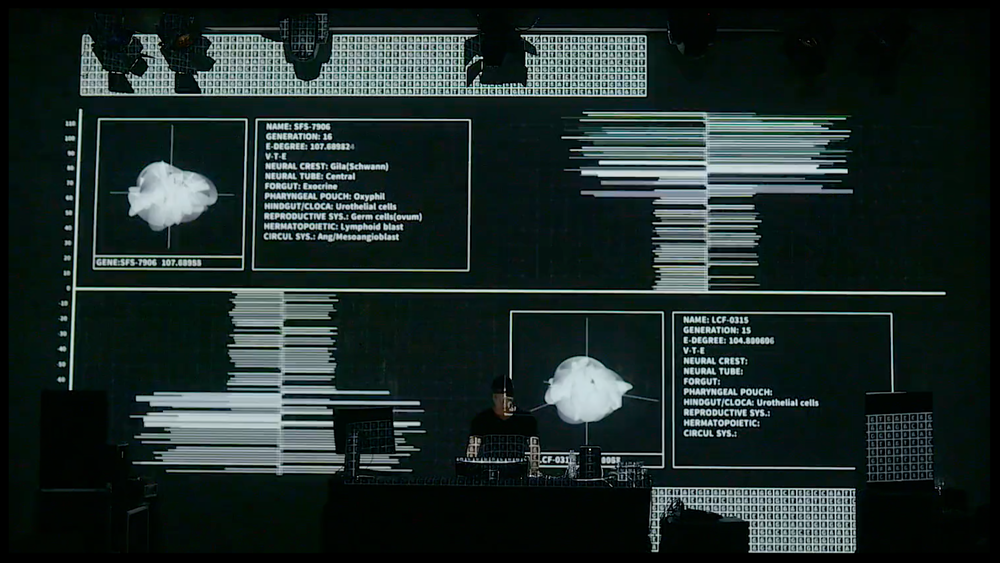 Data.Nature.Anagenesis_1 (2016)  audio-visual live performance