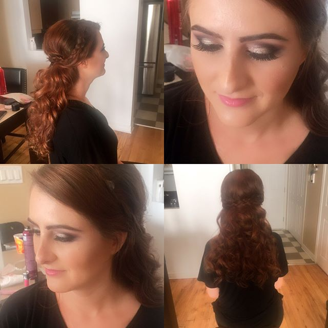 Our beautiful bride to be Dia #bride #curls #volume #bohohair #braidedhairstyles #bridalhair #bridalmakeup #makeup #darkbridalmakeup #mua #makeup #makeupartis #makeupjunkie #montreal #Montréal #mtl #514 #514 #514beauty #beauty #hair #hairstylist #updohairstyle #mobilebeauty #blush #blushbeauty #blushbridebeauty #life #love look by @dia.mak