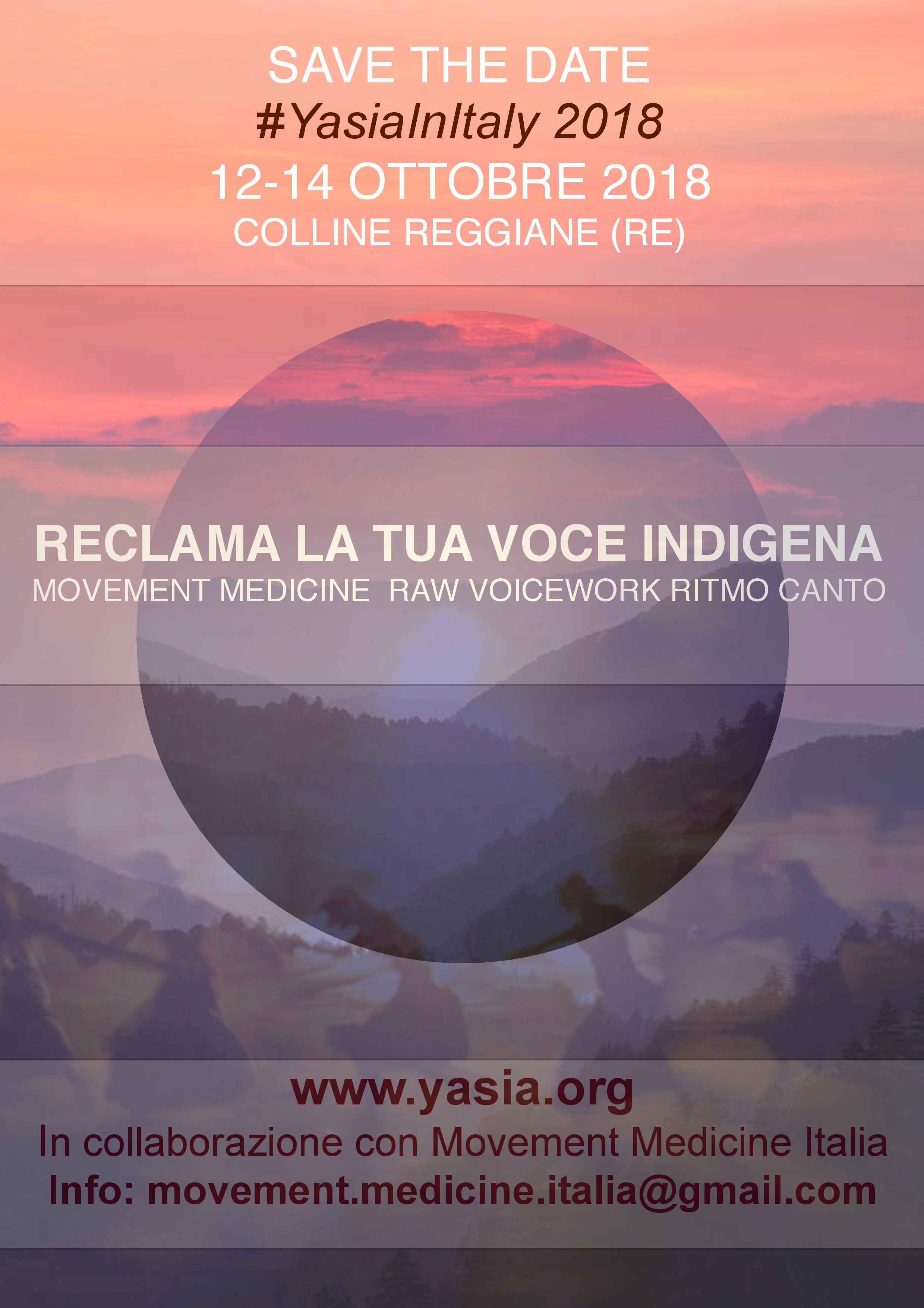 Workshops Conscious Dance Italy
