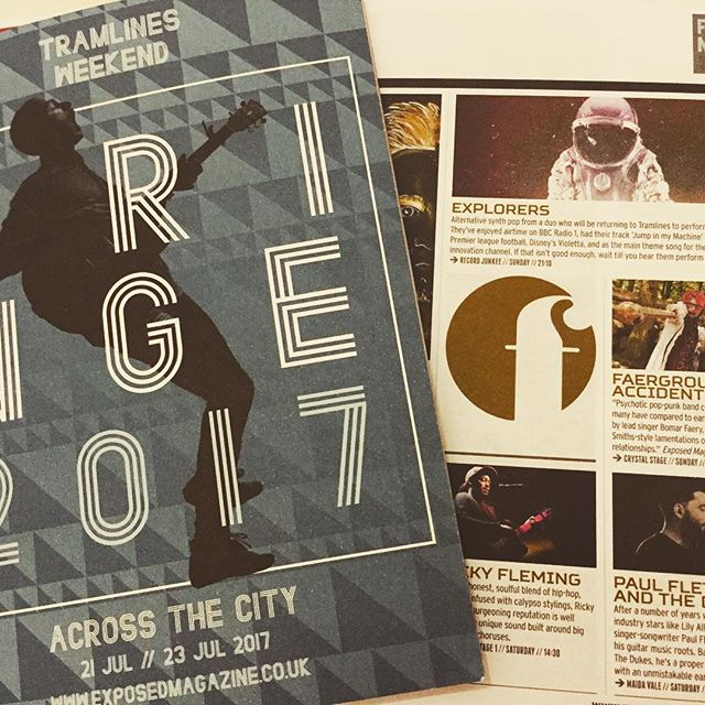 We are featured in the Tramlines festival fringe guide by Exposed Magazine download the full version here: http://www.exposedmagazine.co.uk/tramlines/read-online-tramlines-fringe-programme/ Catch us at Record Junkee Sunday, 14+, 9pm x #tramlines2017 #recordjunkee #explorers #newmusic #exposedmagazine
