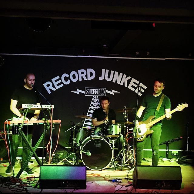 Last night, Record Junkee, airing new songs, Tramlines... Ace! #recordjunkee #tramlines2017 #explorers #newmusic #synthwave #synthpop #indieartist #sheffield