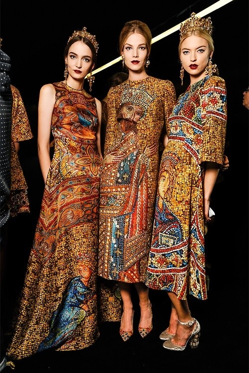 Tapestry Fashion Dresses