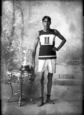 Fred Simpson,  Balsillie Collection of Roy Studio Images,  Peterborough Museum and Archives, 1907.