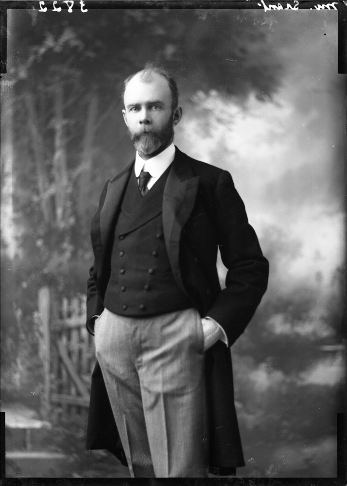 Alexander Grant and his wife, Maude, on their wedding day.  Balsillie Collection of Roy Studio Images, PMA.