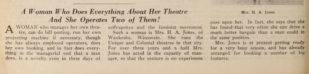 Motion Picture News , Sept. 23, 1916, p1850.