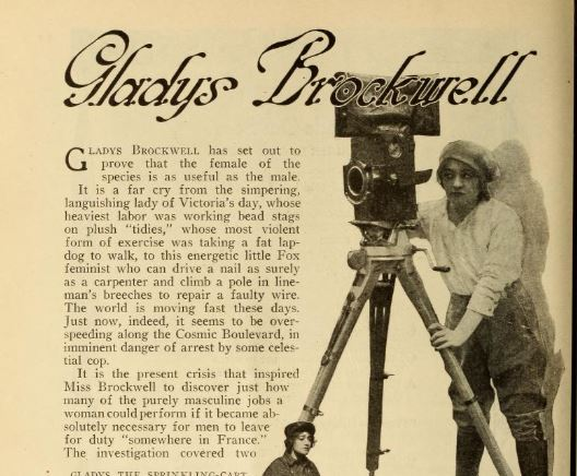 Motion Picture Magazine , February 1918, p.36.