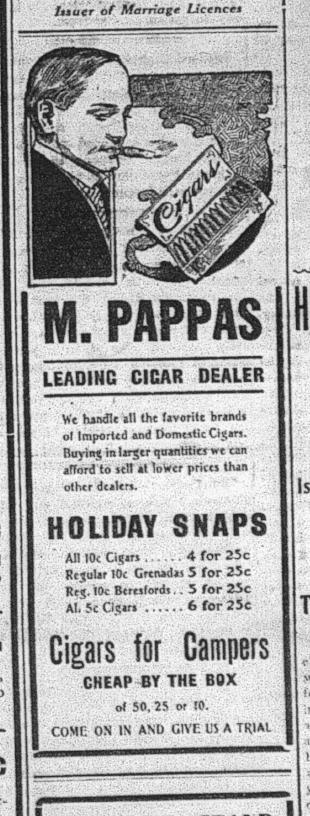 Evening Examiner , July 10, 1908, p.1.