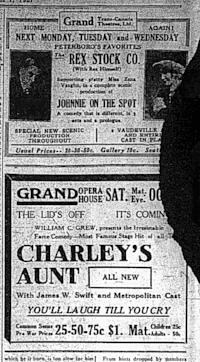 Examiner , Oct. 1, 1921, p.14.
