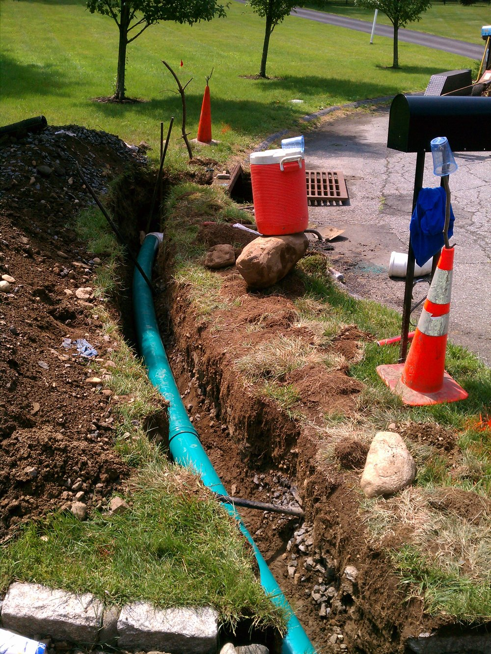 Sewer line installation in Somers, NY