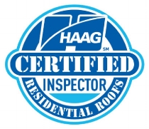 HAAG Certified Residential Roof Inspector