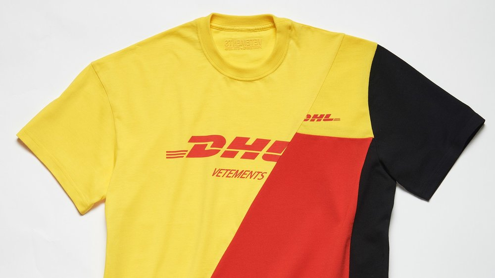 Figure 6. A polo shirt from Vetements' DHL collaboration