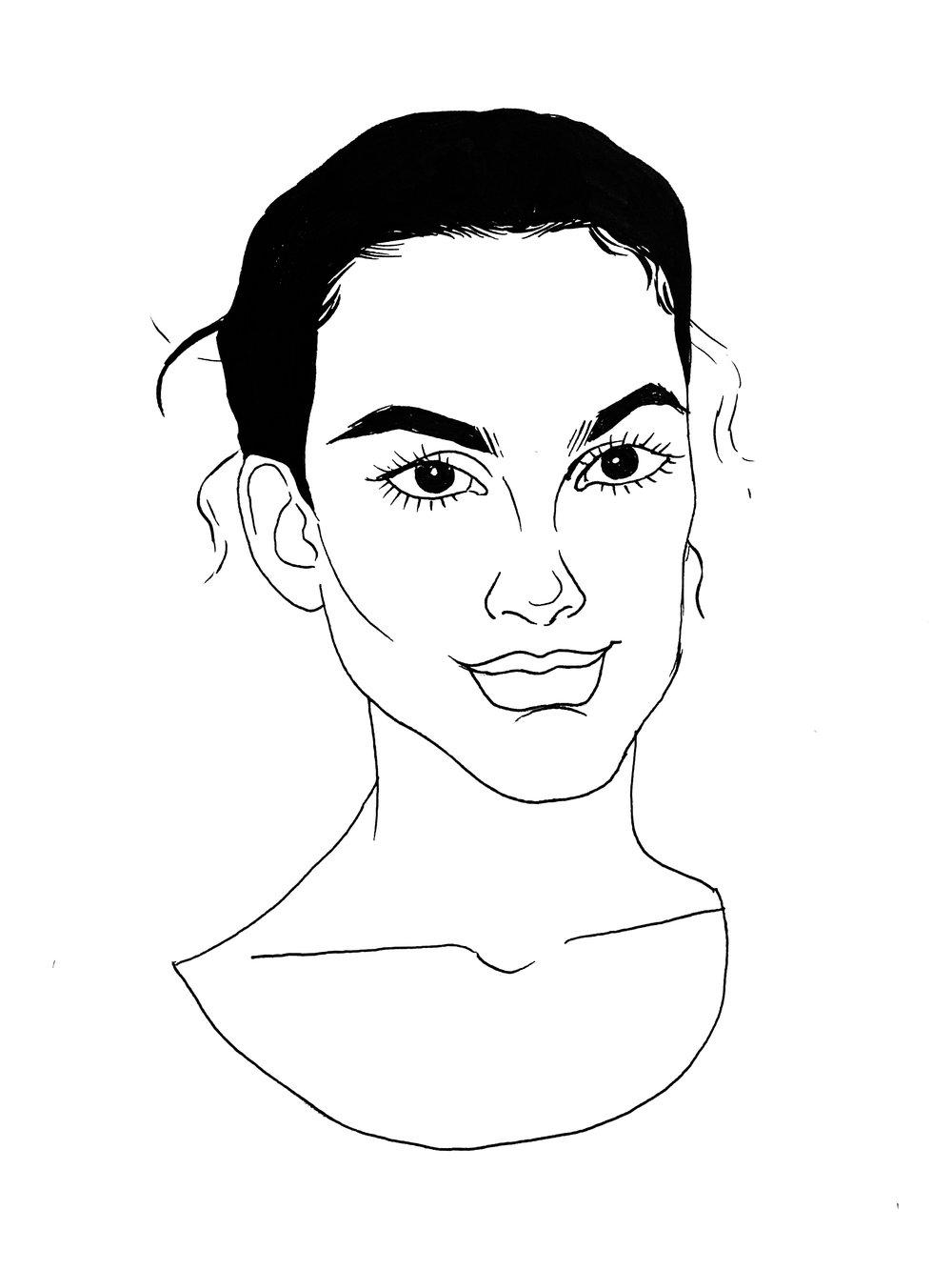 Katie Craymer   By  SPECIWOMEN  Illustration  GINA PIERSANTI