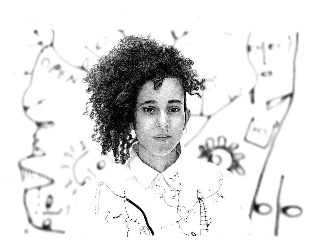 Shantell Martin   By  PHILO COHEN  I  llustration  VISNJA MIHATOV