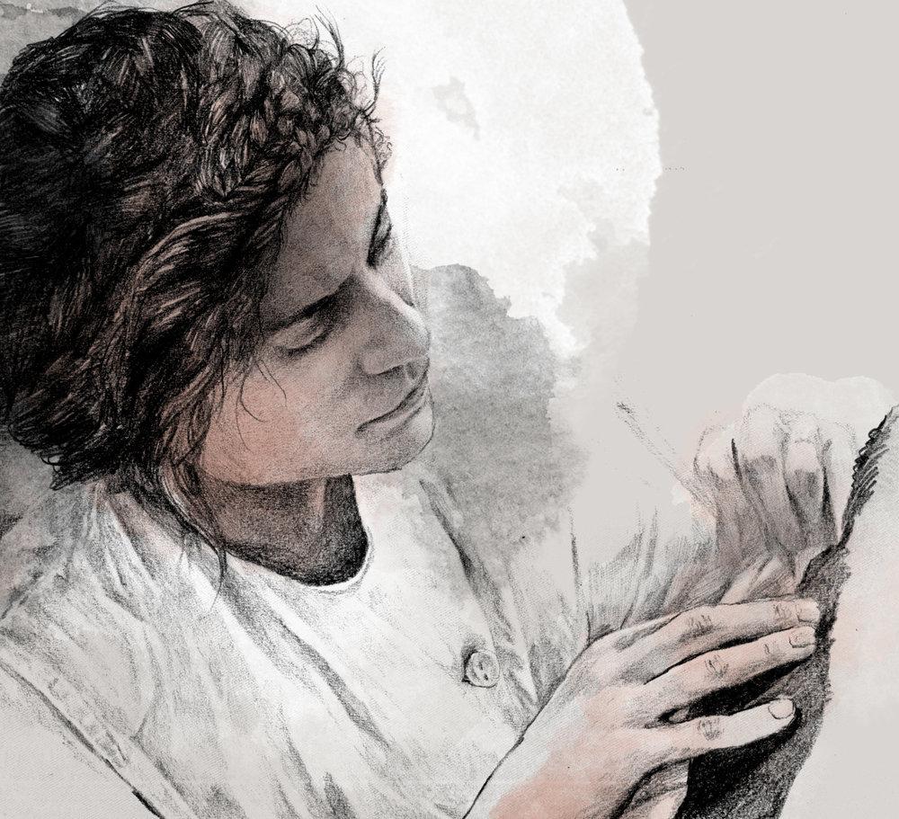 Sarah Jerôme   By  SPECIWOMEN  Illustration  VISNJA MIHATOV