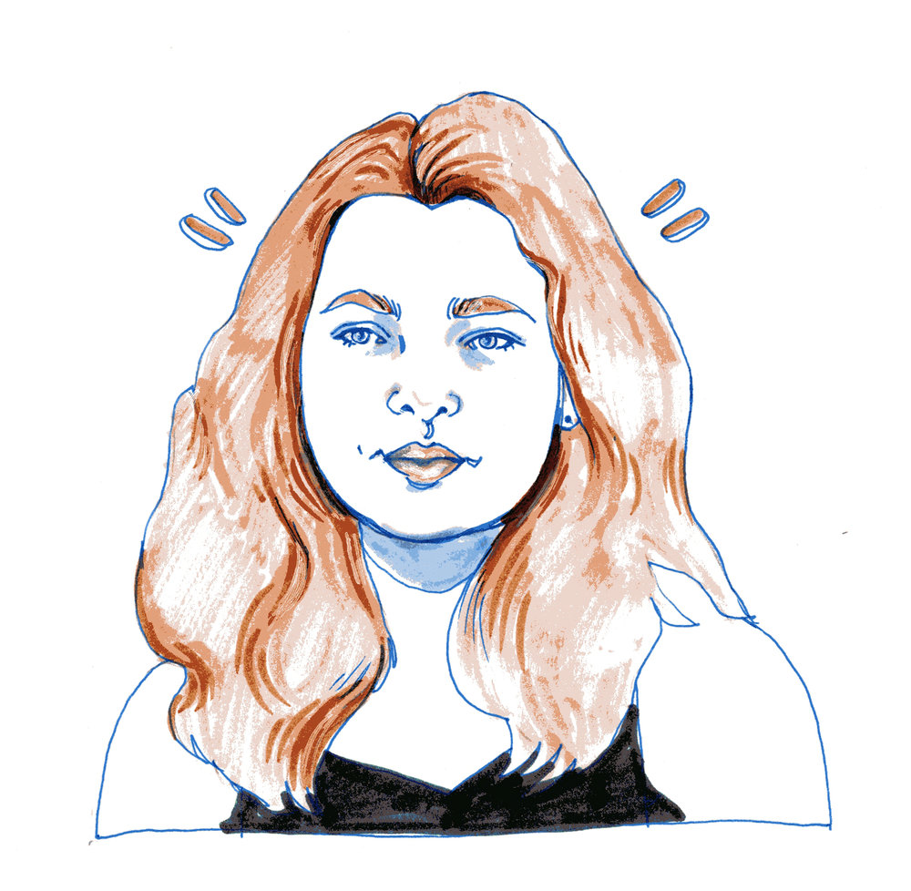 Liv Henneguier   By SPECIWOMEN  Illustration  SENDRA UEBELE
